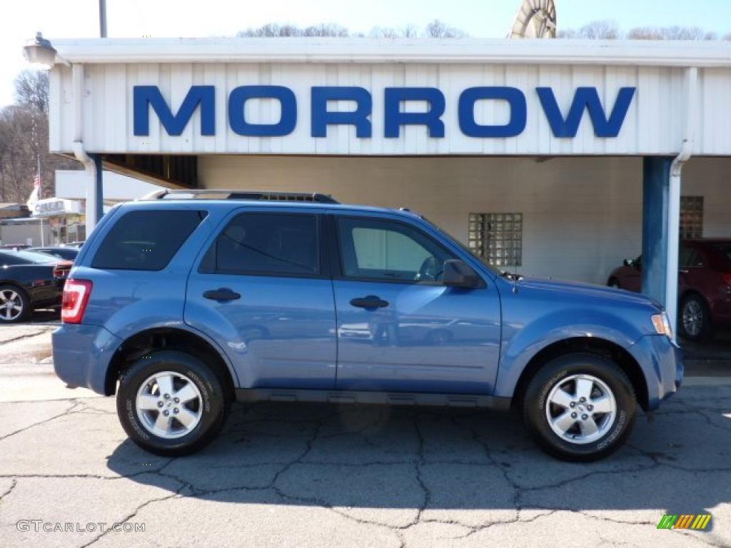 2009 Escape XLT 4WD - Sport Blue Metallic / Charcoal photo #1