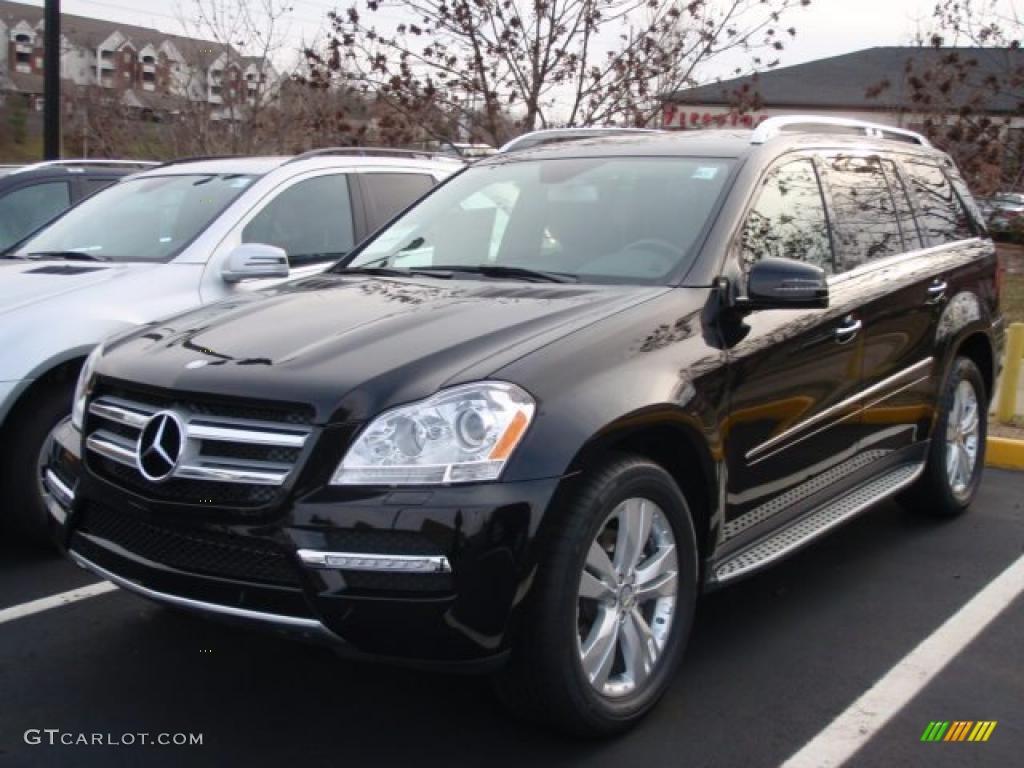 Black 2011 Mercedes Benz Gl 450 4matic Exterior Photo