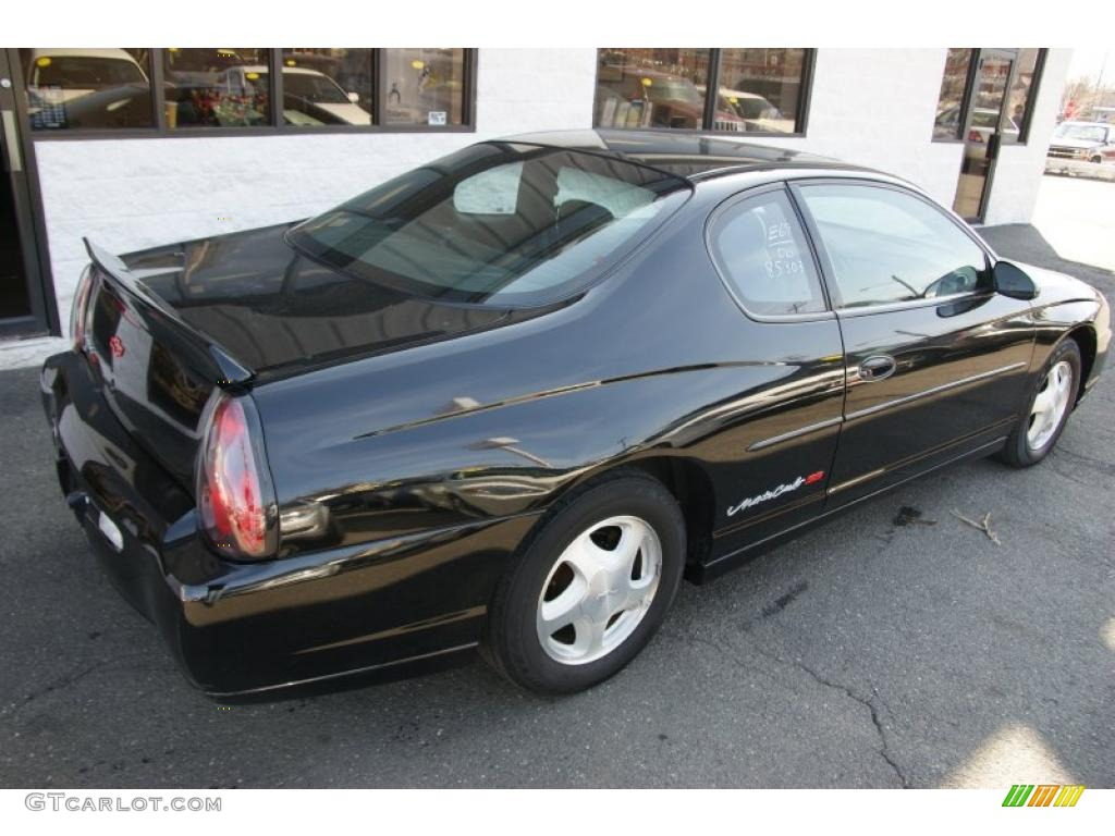 Black 2000 Chevrolet Monte Carlo Ss Exterior Photo