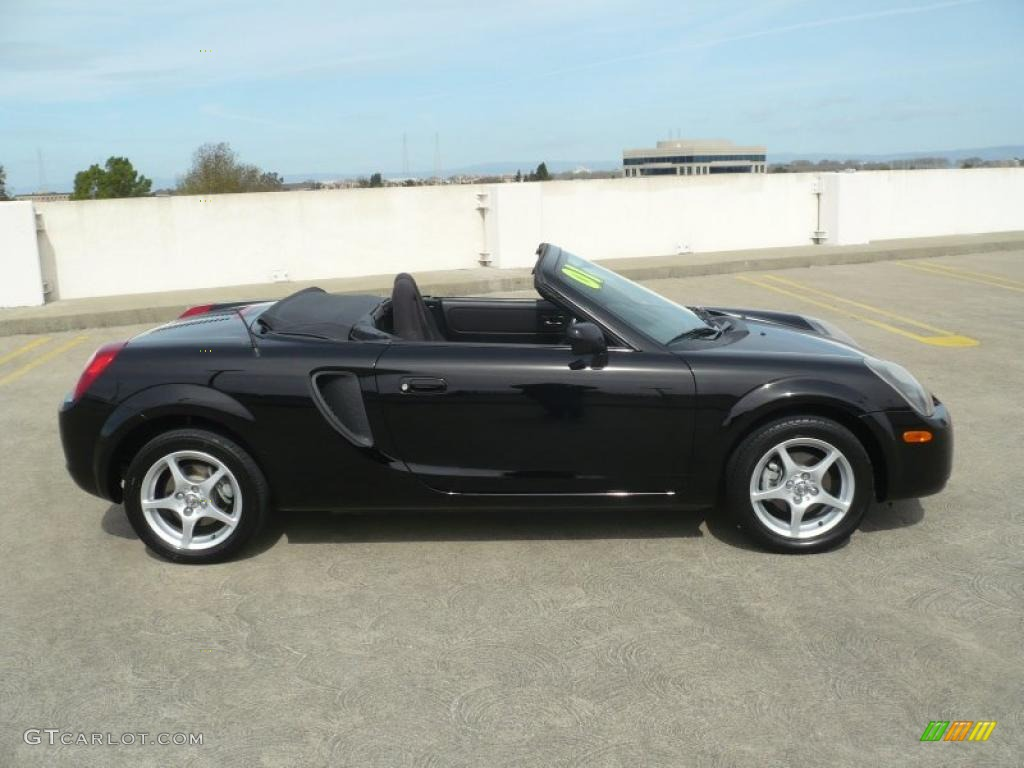 Black 2001 toyota mr2 spyder roadster exterior photo 46363187 gtcarlot com