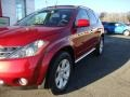 2007 Sunset Red Pearl Metallic Nissan Murano SL AWD  photo #3