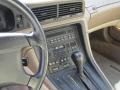 1991 BMW 8 Series Gray Interior Controls Photo
