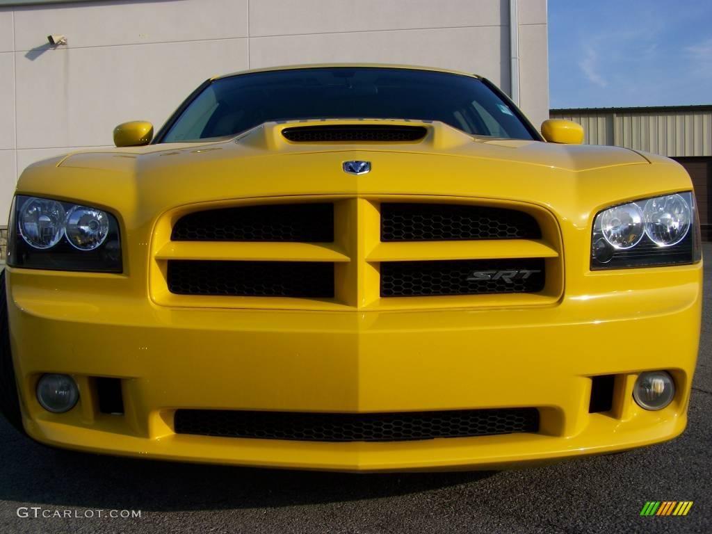 Detonator Yellow Clearcoat 2007 Dodge Charger Srt 8 Super