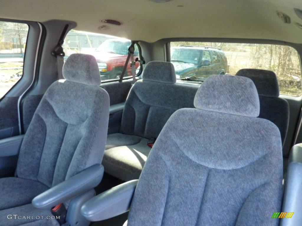 Mist Gray Interior 1999 Dodge Grand Caravan Se Photo 46379865 Gtcarlot Com
