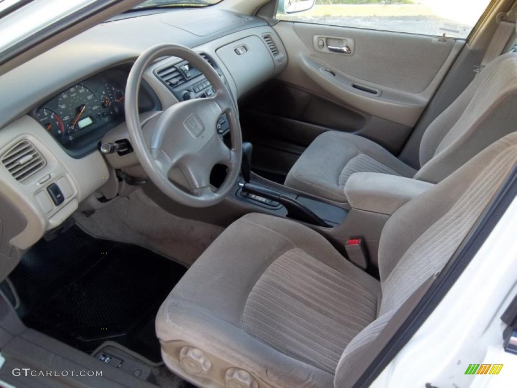 1998 Taffeta White Honda Accord Lx Sedan 46344912 Photo