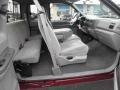 Medium Graphite Interior Photo for 2000 Ford F250 Super Duty #46384095