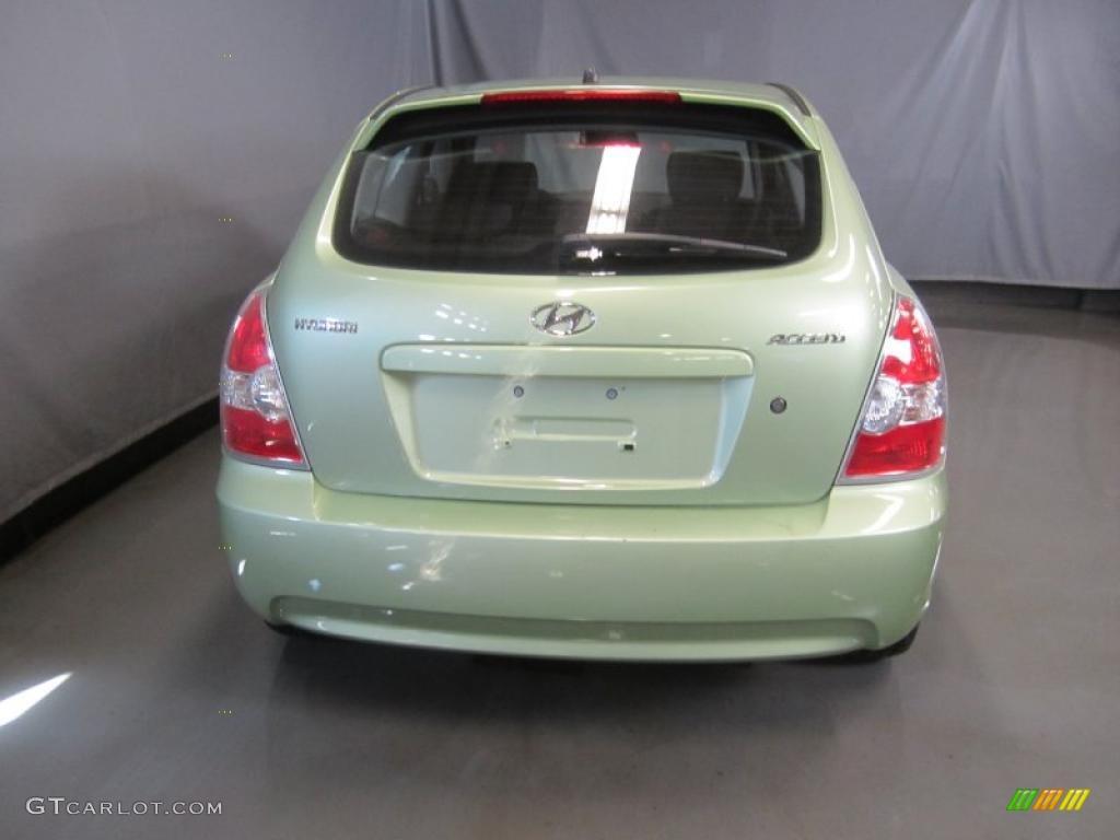Apple Green 2007 Hyundai Accent Se Coupe Exterior Photo 46387315 Gtcarlot Com