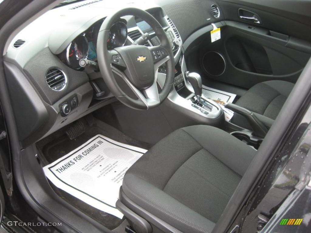 Jet Black Interior 2011 Chevrolet Cruze Lt Rs Photo 46391723