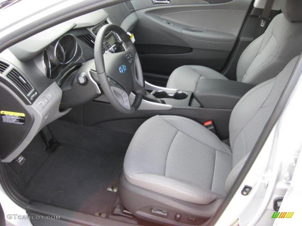 Gray Interior 2011 Hyundai Sonata Se Photo 46399830