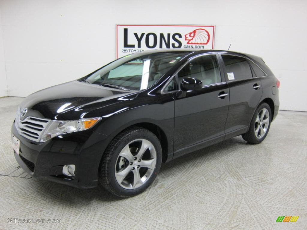 2011 black toyota venza v6 awd 46396783. Black Bedroom Furniture Sets. Home Design Ideas