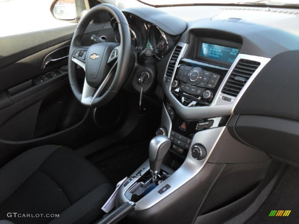 Jet Black Interior 2011 Chevrolet Cruze Lt Rs Photo 46405332