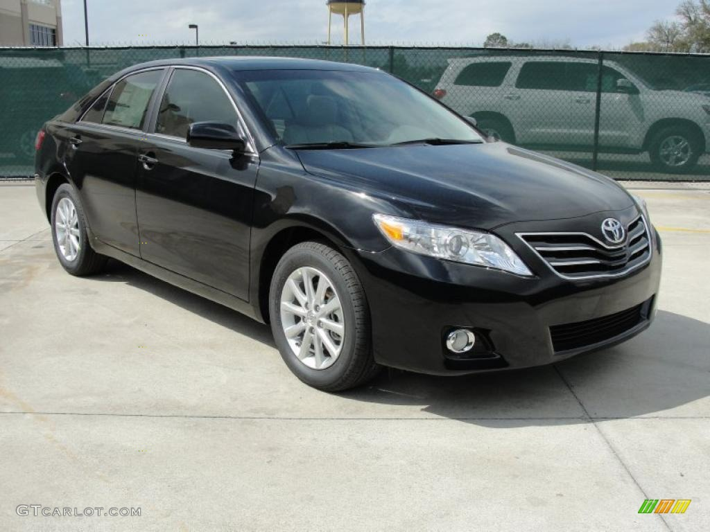 black 2011 toyota camry xle v6 exterior photo 46411416. Black Bedroom Furniture Sets. Home Design Ideas