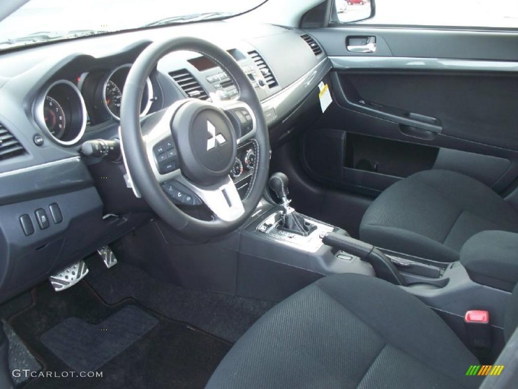 2011 Mitsubishi Lancer Ralliart Awd Interior Photo 46414575