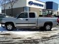 Silver Birch Metallic - Silverado 1500 Classic Work Truck Extended Cab 4x4 Photo No. 7