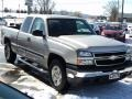 Silver Birch Metallic - Silverado 1500 Classic Work Truck Extended Cab 4x4 Photo No. 11