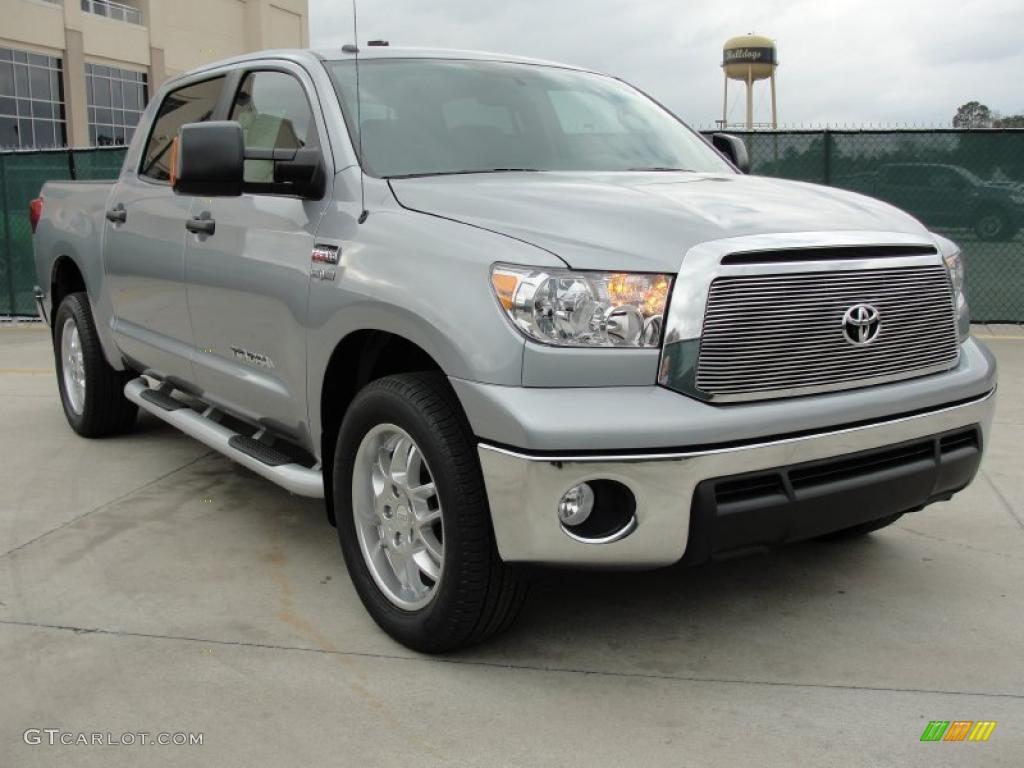 Silver Sky Metallic Toyota Tundra