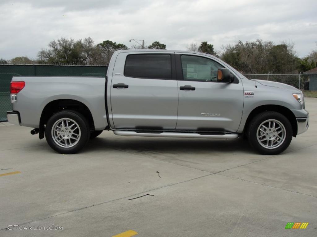 2011 Tundra Texas Edition CrewMax - Silver Sky Metallic / Graphite Gray photo #2