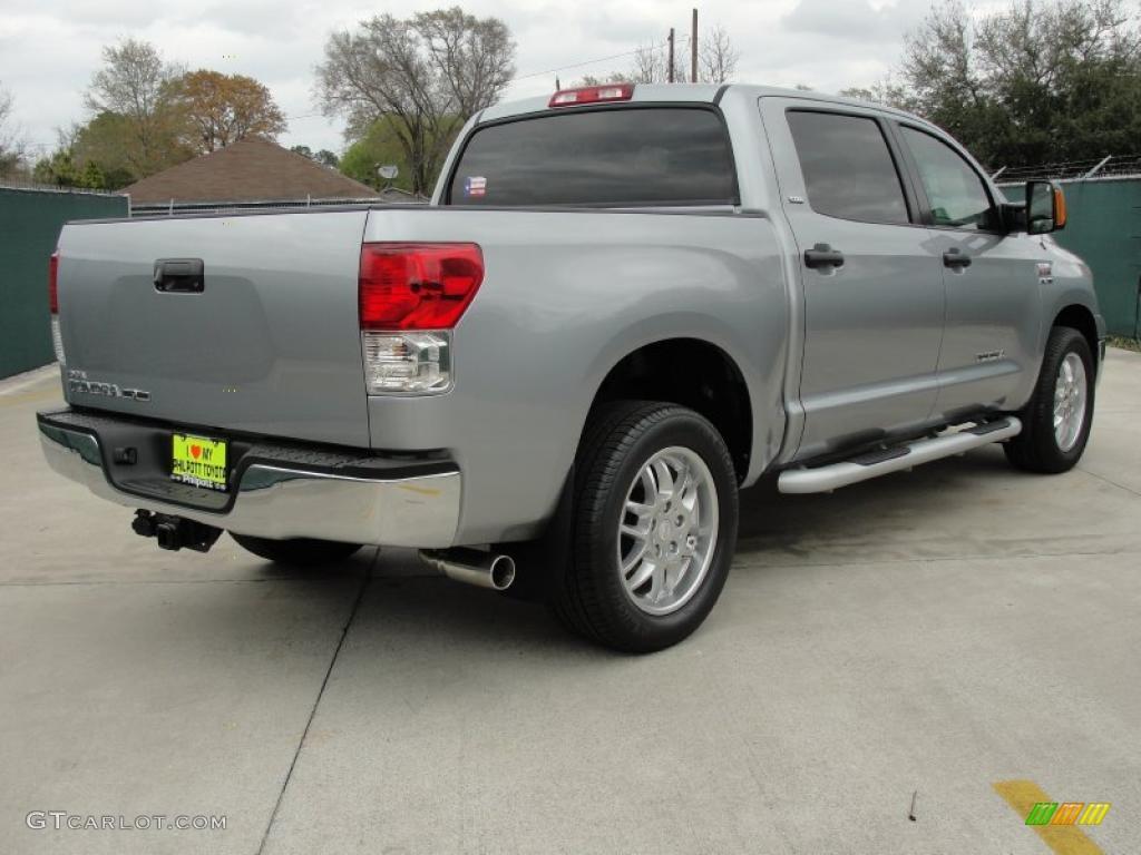 2011 Tundra Texas Edition CrewMax - Silver Sky Metallic / Graphite Gray photo #3