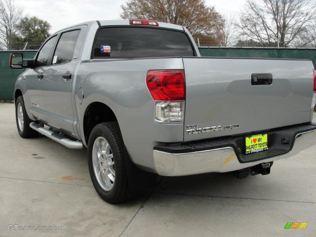 2011 Tundra Texas Edition CrewMax - Silver Sky Metallic / Graphite Gray photo #5