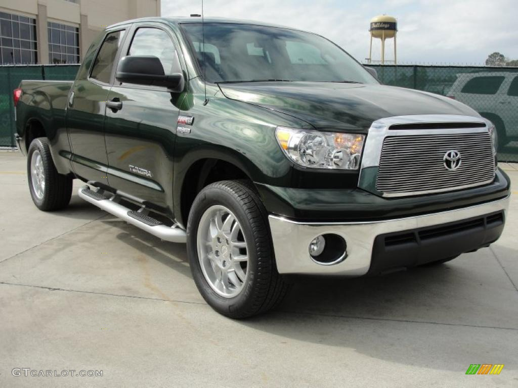 2011 spruce green mica toyota tundra texas edition double cab 46397369 car. Black Bedroom Furniture Sets. Home Design Ideas