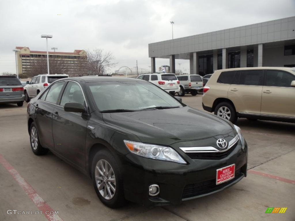 2011 toyota camry hybrid green 200 interior and exterior images. Black Bedroom Furniture Sets. Home Design Ideas