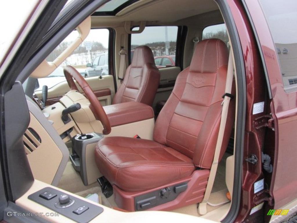 2009 Ford F450 Super Duty King Ranch Crew Cab 4x4 Dually Interior Photo 46427157