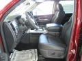 2011 Deep Cherry Red Crystal Pearl Dodge Ram 1500 Laramie Crew Cab  photo #6