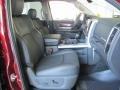 2011 Deep Cherry Red Crystal Pearl Dodge Ram 1500 Laramie Crew Cab  photo #8