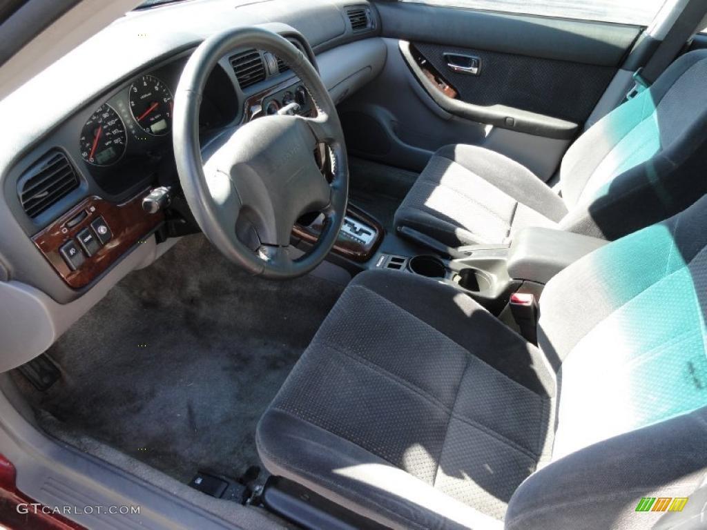 Gray Interior 2002 Subaru Forester 2 5 L Photo 46430211