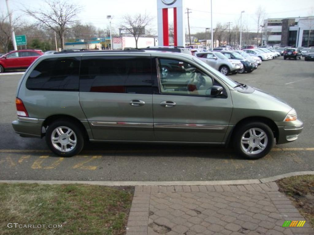 Spruce Green Metallic 2003 Ford Windstar Se Exterior Photo