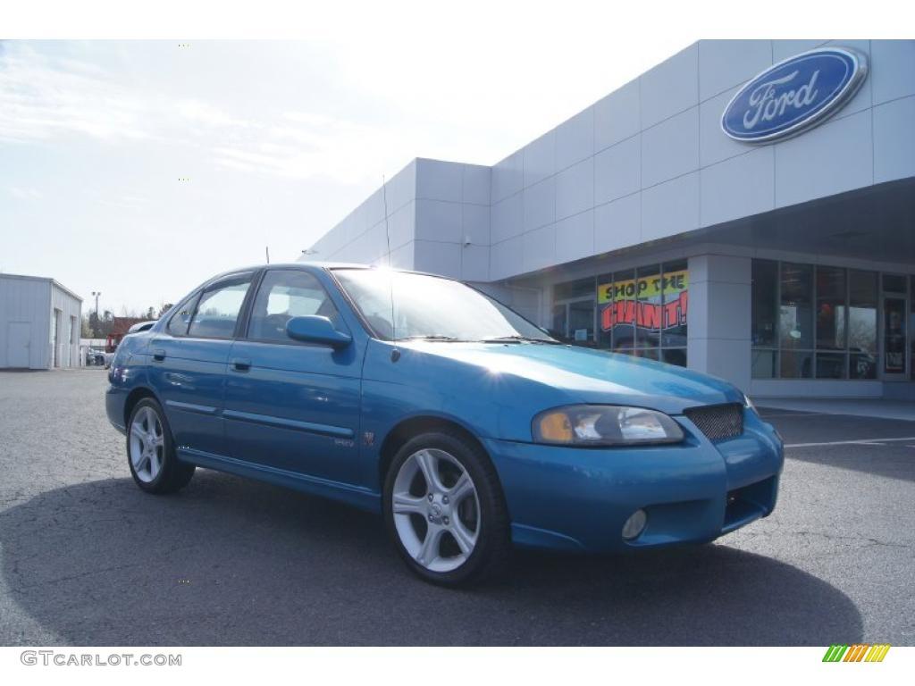 2003 Nissan Sentra Se R Spec V >> 2003 Vibrant Blue Metallic Nissan Sentra Se R Spec V 46397256