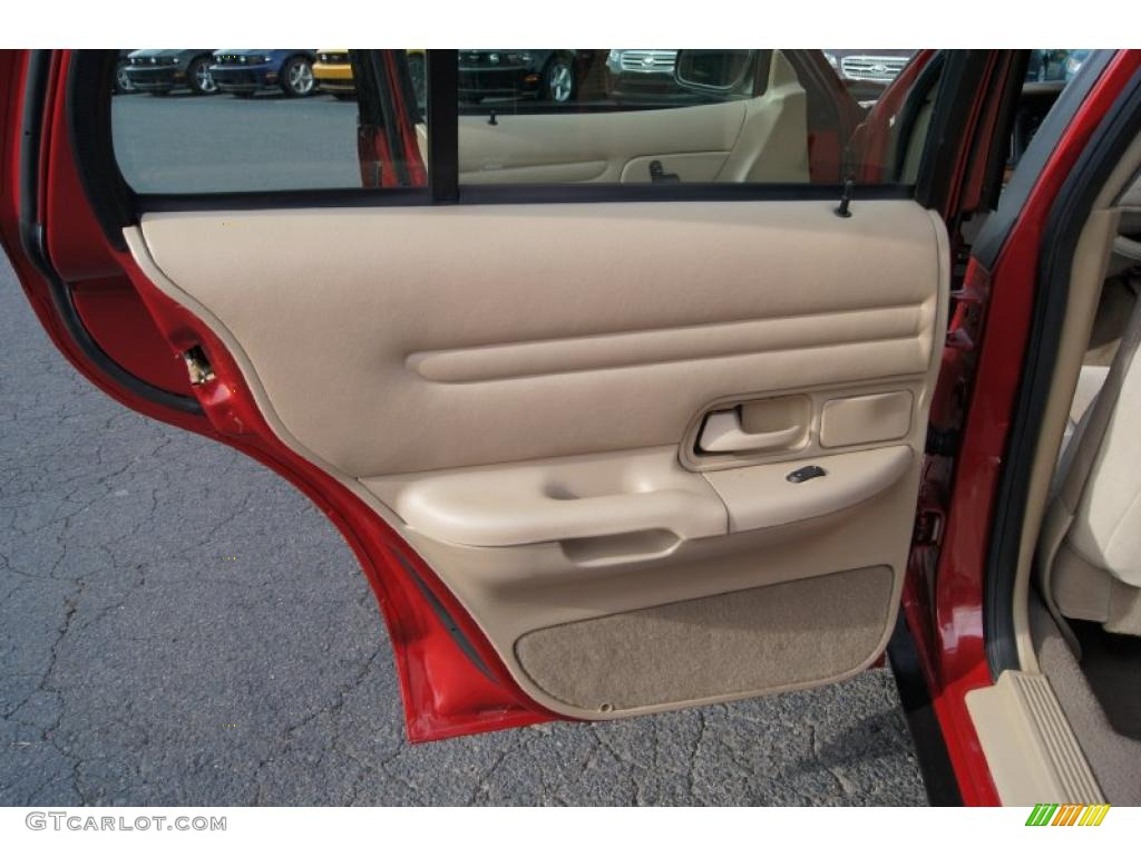 2001 Ford Crown Victoria Lx Medium Parchment Door Panel Photo 46432979
