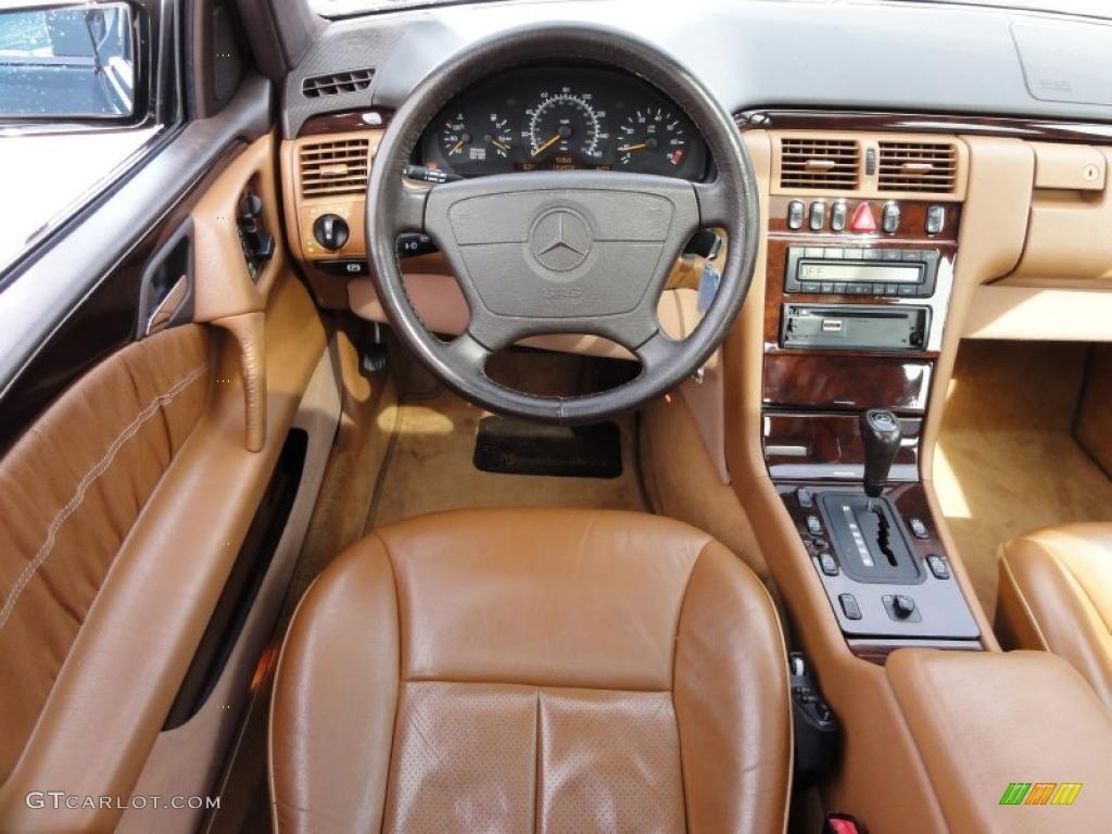 Palamino Interior 1996 Mercedes Benz E 320 Sedan Photo 46434258
