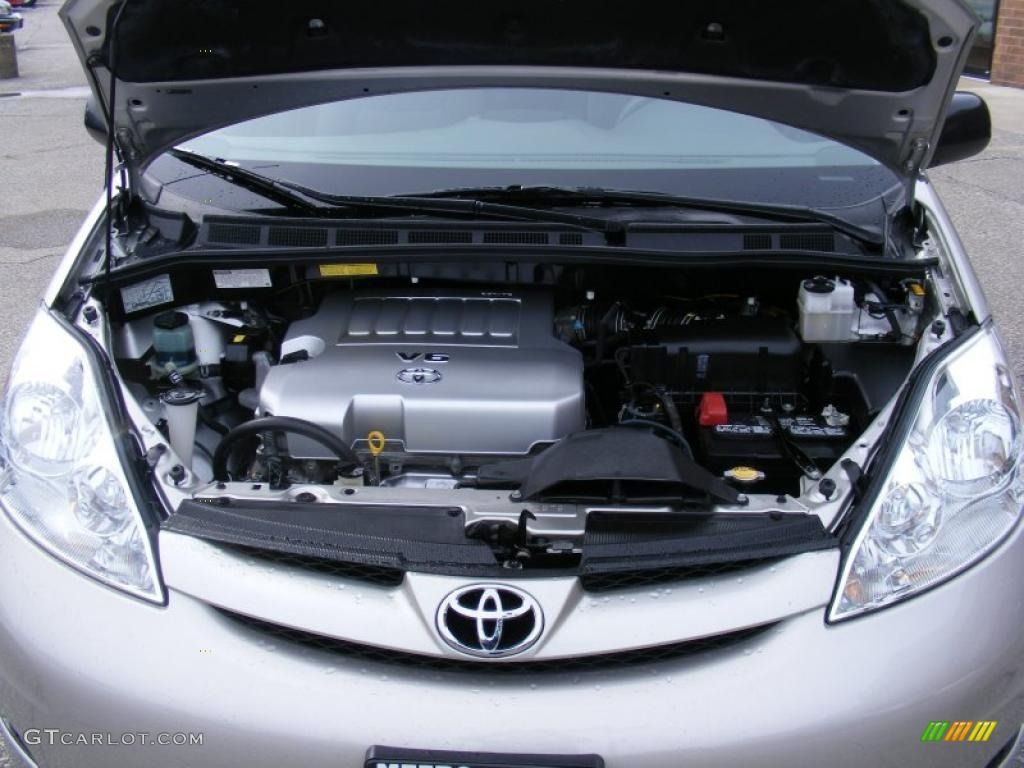 Toyota sienna 2008 specifications