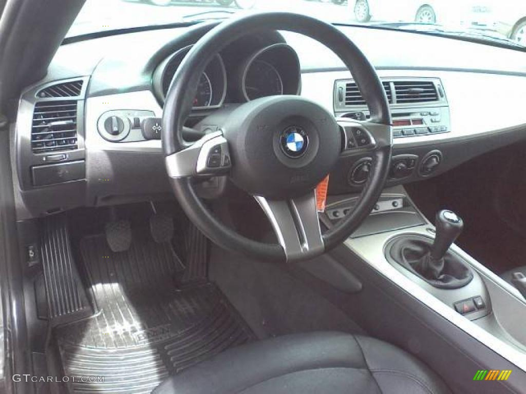 2004 Bmw Z4 2 5i Roadster Black Dashboard Photo 46440063