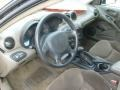 2001 Pontiac Grand Am Dark Taupe Interior Prime Interior Photo
