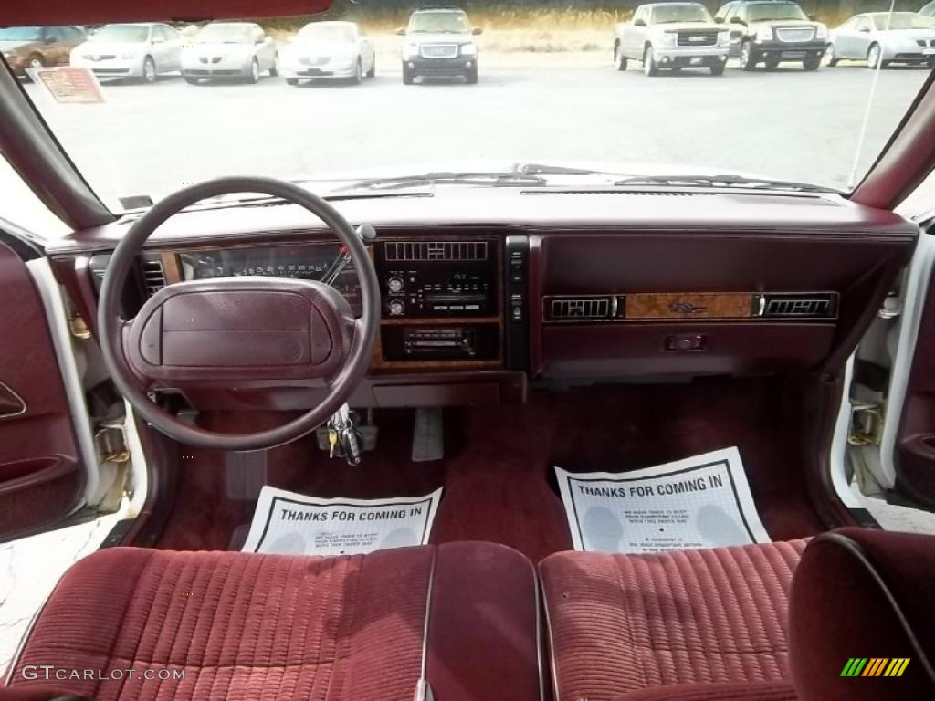 1994 Buick Century Special Sedan Red Dashboard Photo