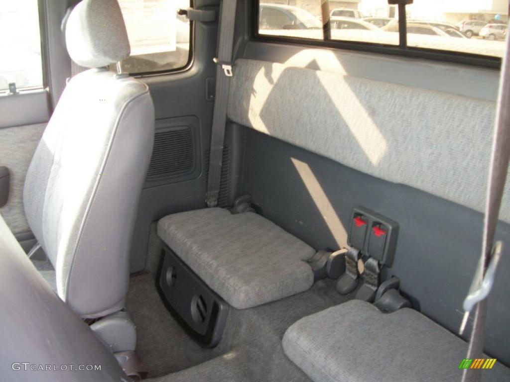 Gray Interior 1998 Toyota Tacoma V6 Trd Extended Cab 4x4 Photo 46446021