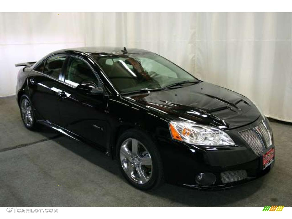 2008 black pontiac g6 gxp sedan 46397301. Black Bedroom Furniture Sets. Home Design Ideas
