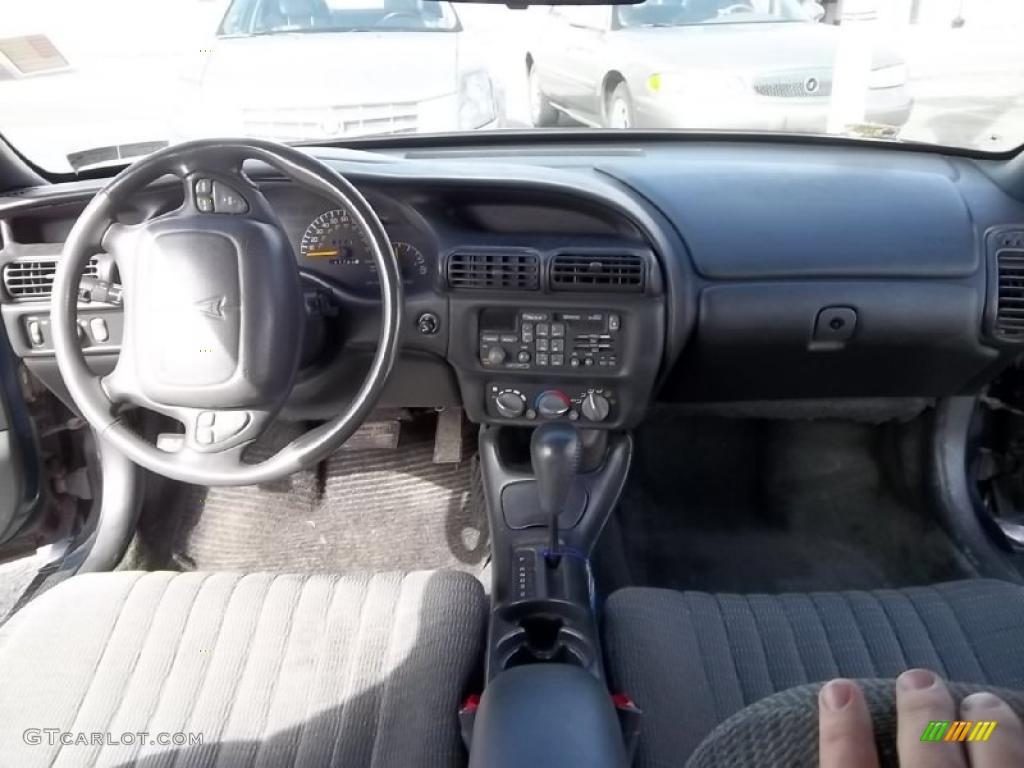 1996 Pontiac Grand Prix Se Coupe Graphite Gray Dashboard