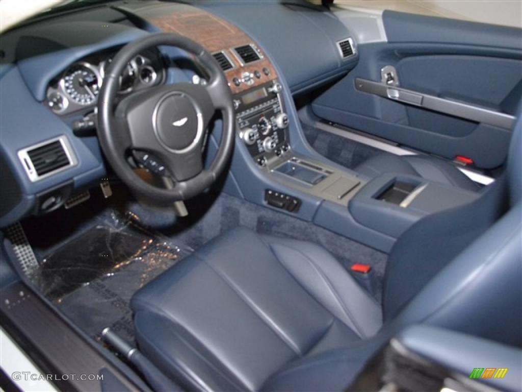 Baltic Blue Interior 2010 Aston Martin Db9 Volante Photo 46457292