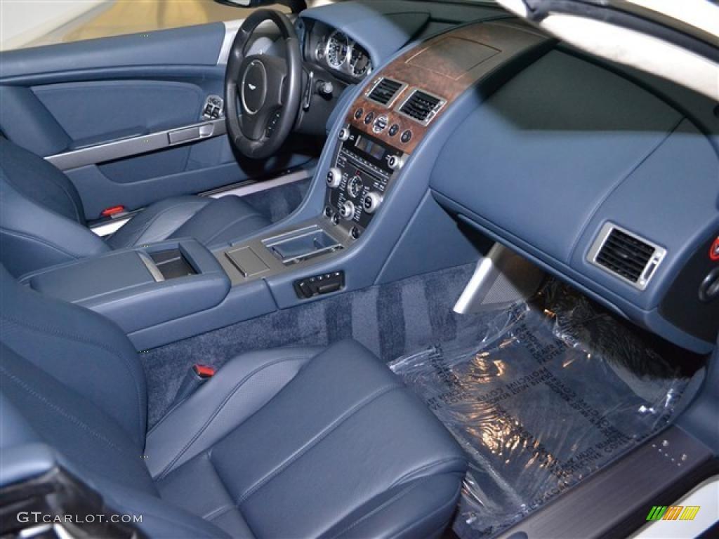 Baltic Blue Interior 2010 Aston Martin Db9 Volante Photo 46457310
