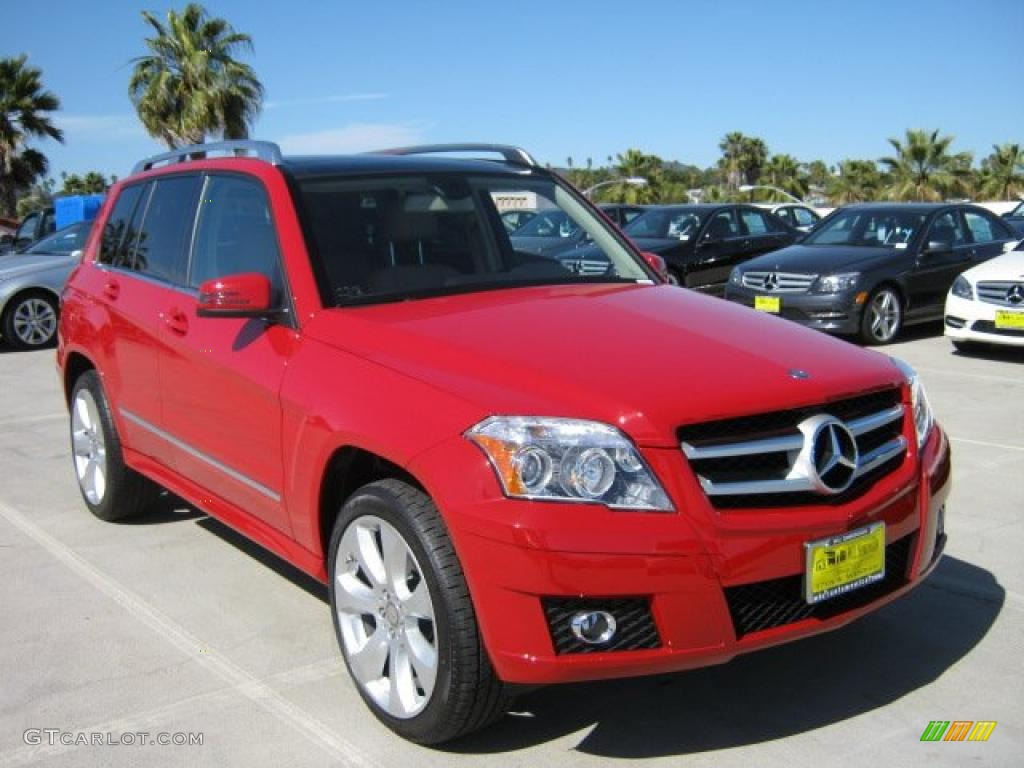 2011 Mars Red Mercedes Benz Glk 350 46455757 Gtcarlot