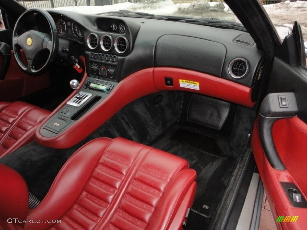 Bordeaux Interior 2000 Ferrari 550 Maranello Photo