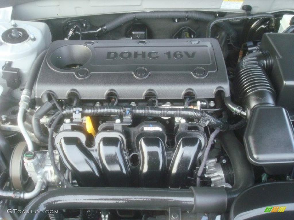 2010 Hyundai Sonata Gls 2 4 Liter Dohc 16