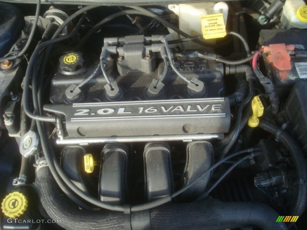 91 2000 Neon Engine Plymouth Start Up Dodge Wiring Diagram Highline 20 Liter Sohc 16 Valve 4 Cylinder Photo 46464789