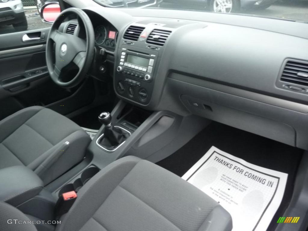 Anthracite interior 2007 volkswagen rabbit 4 door photo for Inside 2007 online