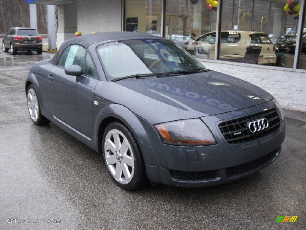 dolomite grey pearl effect 2005 audi tt 1 8t quattro. Black Bedroom Furniture Sets. Home Design Ideas