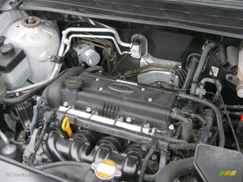 2010 Kia Soul 1 6 1 6 Liter Dohc 16 Valve Cvvt 4 Cylinder