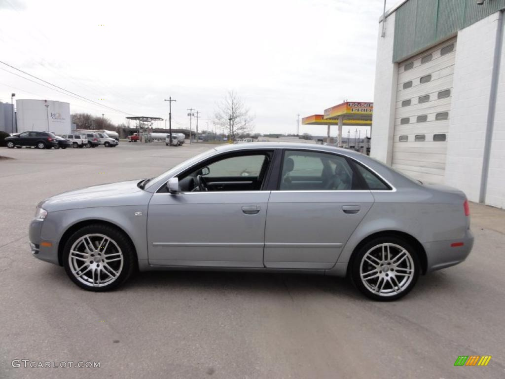quartz gray metallic 2006 audi a4 2 0t quattro sedan exterior photo 46472691. Black Bedroom Furniture Sets. Home Design Ideas